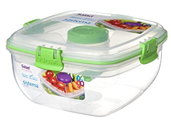Sisteama 4.6 cup Salad Container