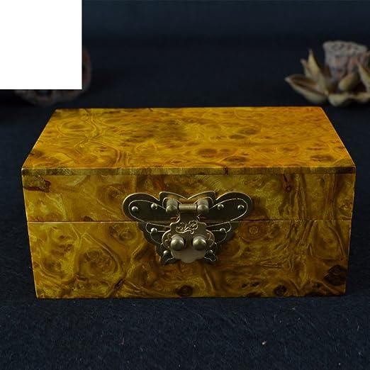 Zhang caja de joyas de oro labrada Caja regalo joya del cuadro la ...