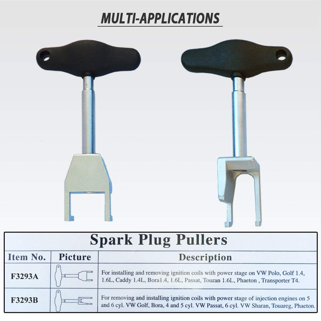 Amazon.com: FIT TOOLS Spark Plug Ignition Coil Removing And Installing Pullers: Automotive