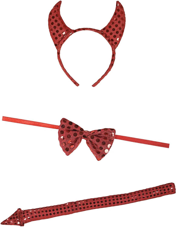 Rubie's Costume Co Sequin Devil Accessory Kit Costume