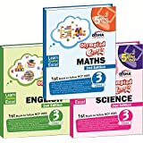Olympiad Champs Science, Mathematics, English Class 3 with 15 Online Mock Tests (Set of 3 Books)