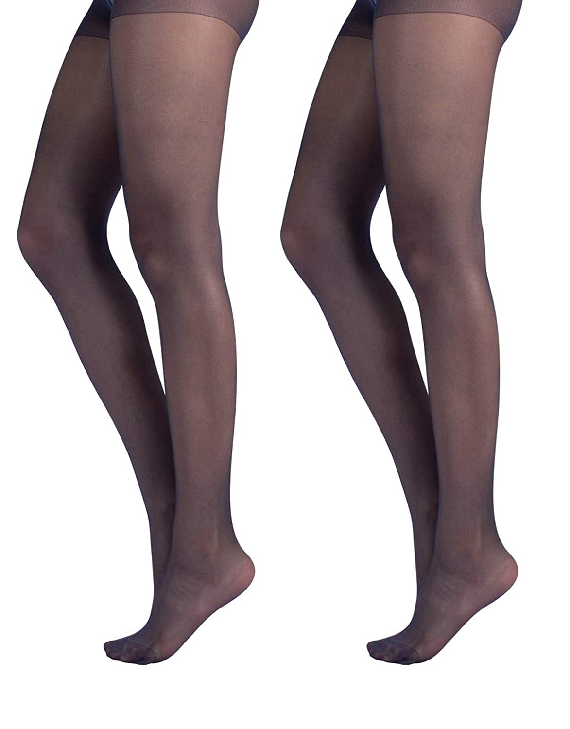 8e97360d00a 2 PAIRS Sheer tights Every day Pantyhose Women Tights Stockings Sheer  Nylons at Amazon Women s Clothing store