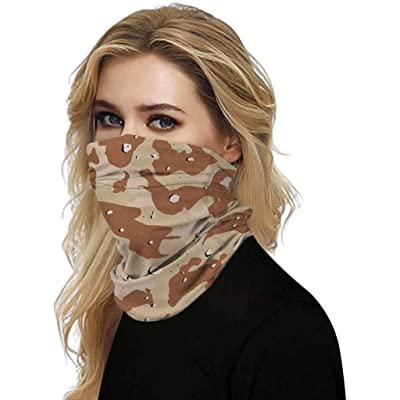 Magic Scarf Outdoor Headwear Bandana Sports Tube UV Face Mask for Workout Yoga Running Hiking Riding at Women's Clothing store