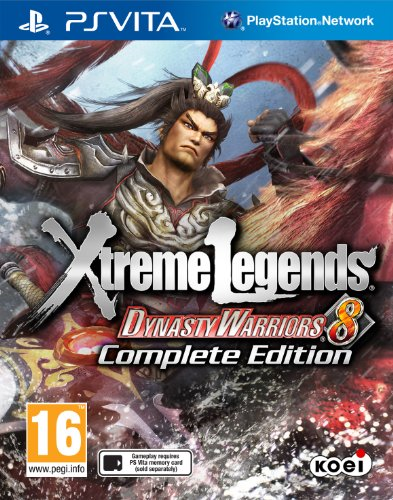 (PRE-ORDER! Dynasty Warriors 8 with Xtreme Legends Sony Playstation PS Vita Game)