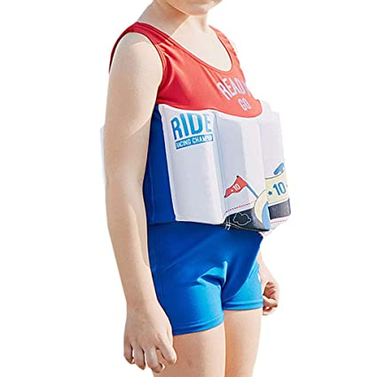IvyH Traje de baño Flotante de los Muchachos - Baby Kids One Piece Buoyancy Swimsuit Beach