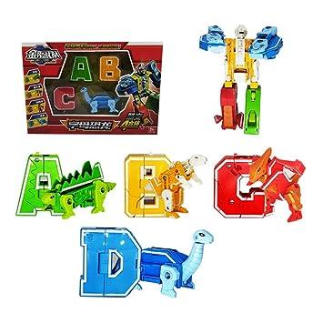 Animales Robot Juegos Transformación De Blaward Juguetes Dígitos Símbolo Número Educativos Construcción m0wOvN8n