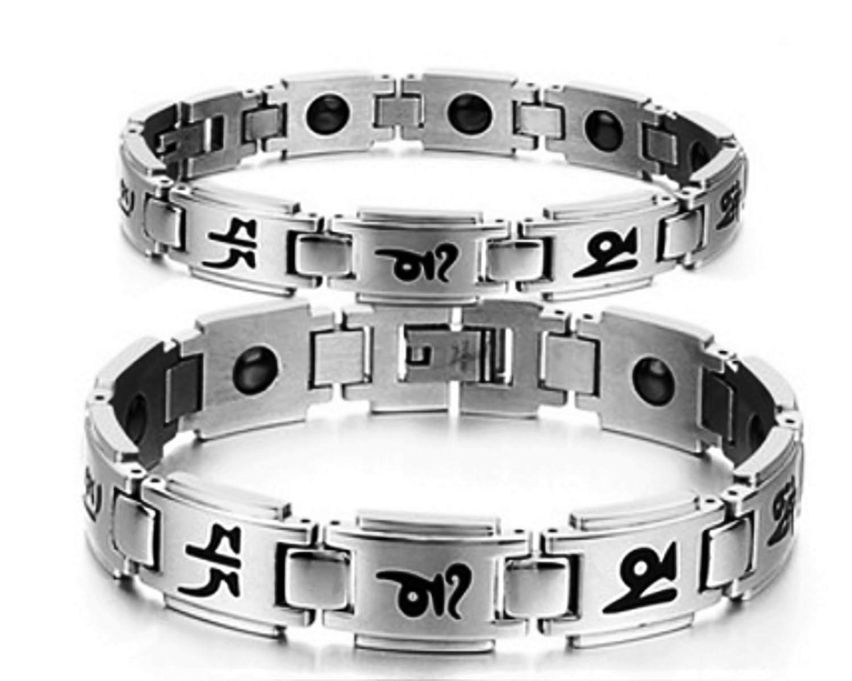Magnetic Bracelet Titanium Therapy Balance Image 1