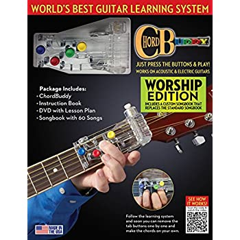 Amazon.com: ChordBuddy Guitar Learning System for Right Handed ...