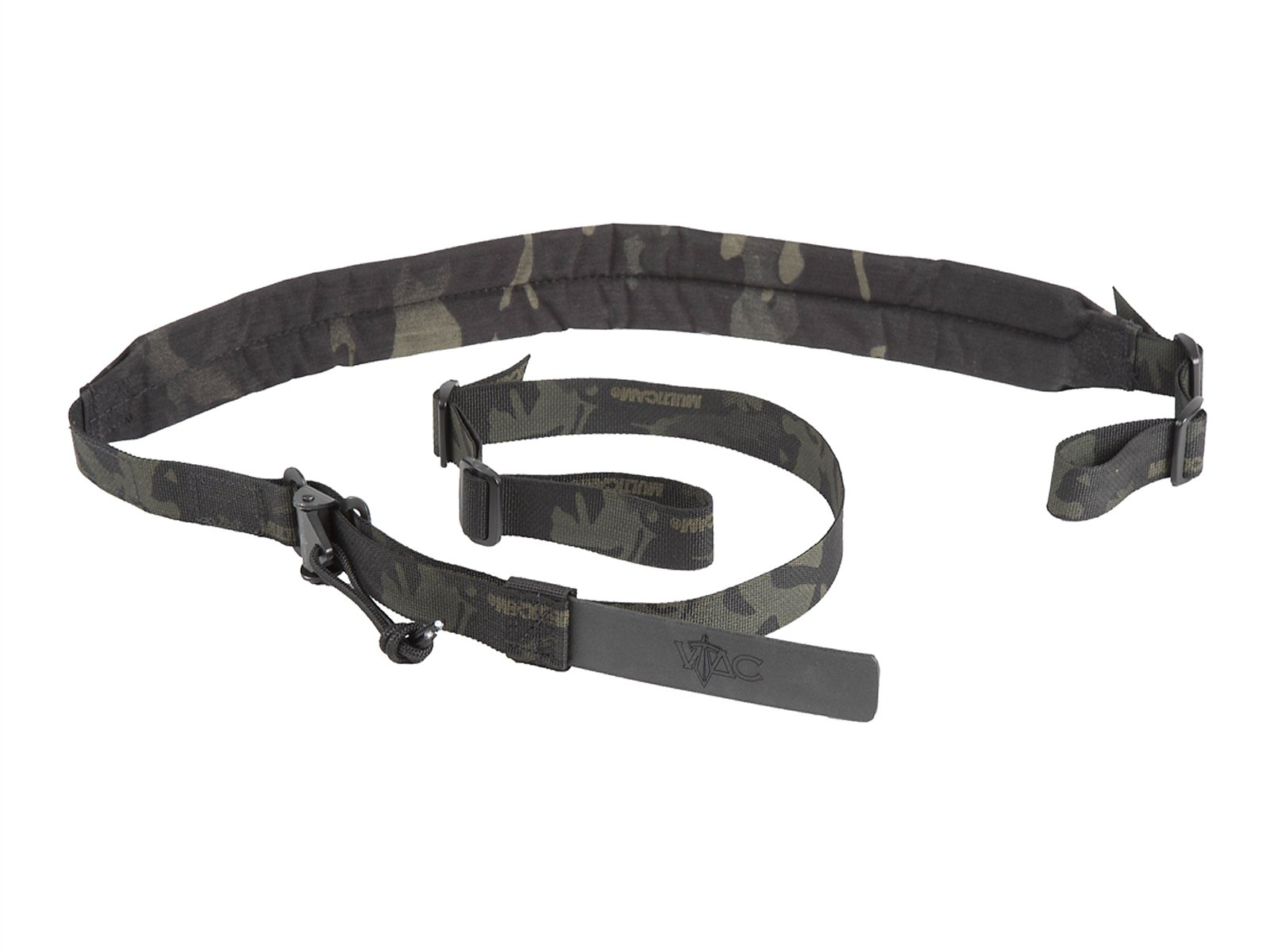 Viking Tactics Wide (Padded) Hybrid 2 point Sling (light weight-upgrade) (Black Multicam) by Viking Tactics