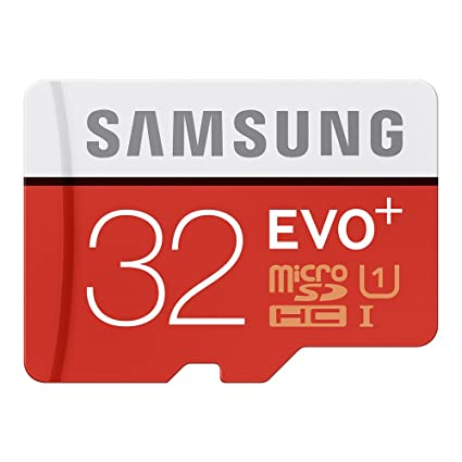 Samsung EVO Plus MicroSD Card 32GB MicroSDHC UHS-I Class 10 ...
