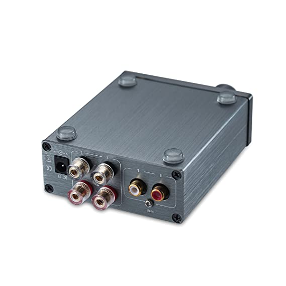 Nobsound Mini Chassis TPA3116 HiFi Verstärker 2.0 Channel Stereo ...