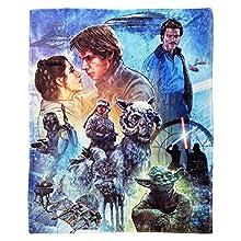 "Star Wars Disney's Empire Strikes Back Silk Touch Throw Blanket, 50"" x 60"", Multi Color"
