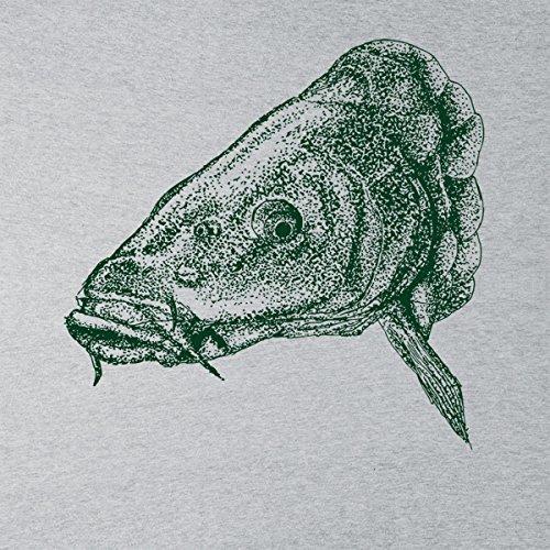 Carp Fishing Women's Sweatshirt Heather Grey
