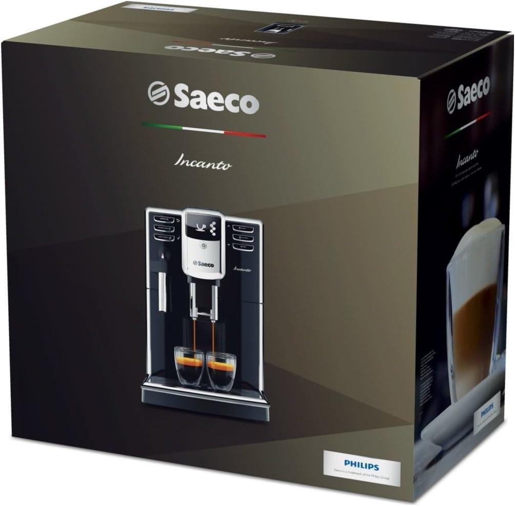 Saeco hd8911/02 Incanto de la potencia Cafetera automática (1850 W ...