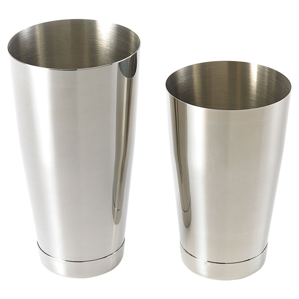 Barfly M37009 Cocktail Shaker Tin, Set (18 oz and 28 oz), Stainless Steel