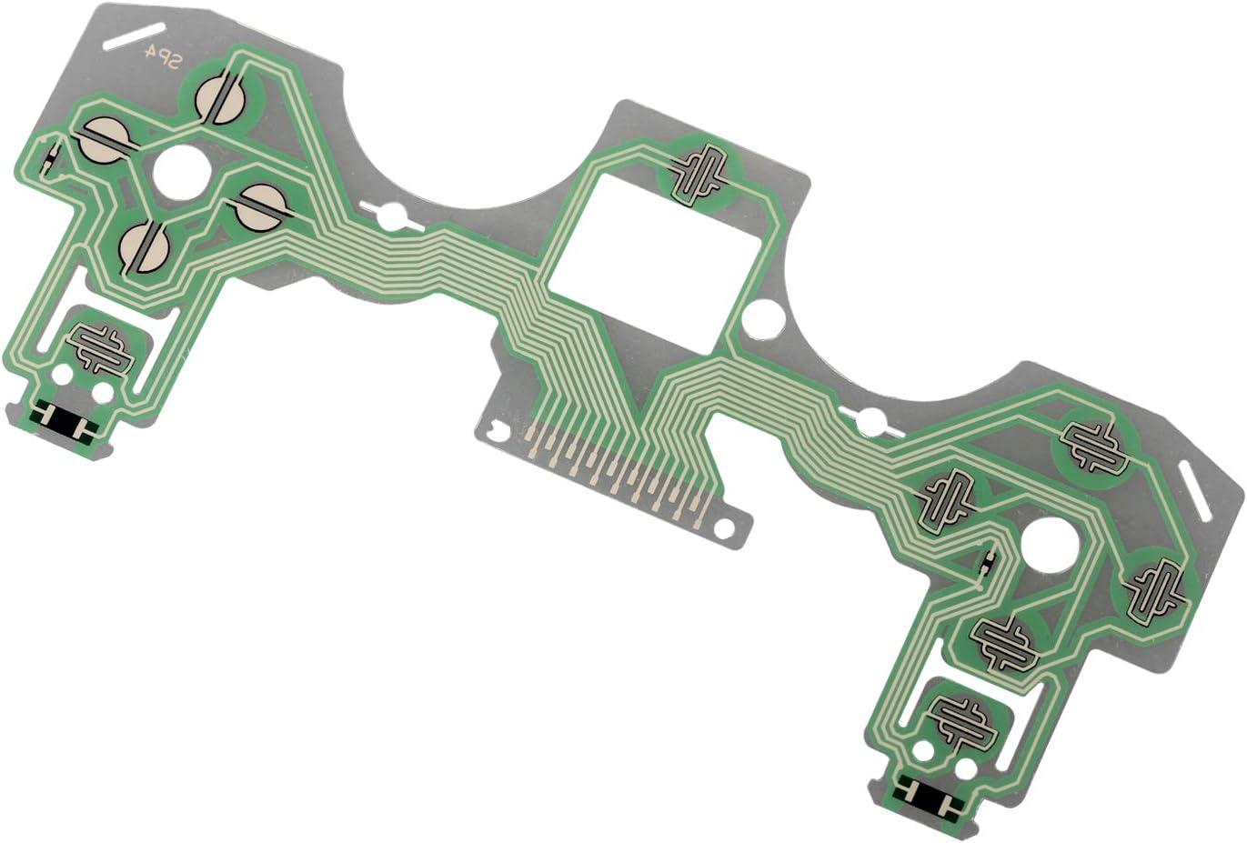 Timorn Teclado PS4, Placa de Circuito de Cinta Flexible de reemplazo para PS4 Placa controladora de Playstation 4 (1 PC)