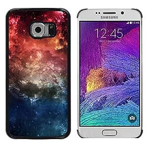Be Good Phone Accessory // Dura Cáscara cubierta Protectora Caso Carcasa Funda de Protección para Samsung Galaxy S6 EDGE SM-G925 // Nature Beautiful Forrest Green 57