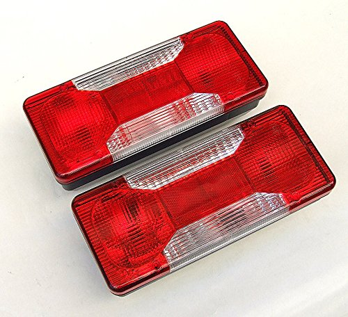 2 x 12 V 24 V Rear Light Rear Lamp Tail Light Iveco Daily 65 °C18 3.0 HPT Platform Fiat Peugeot Rear Light Rear Lamp