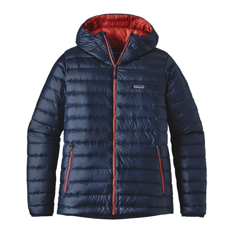 patagonia(パタゴニア) M's Down Sweater Hoody メンズダウンセーターフーディ 84701 B01HBOS2F2 XX-Large|Navy Blue w/Ramble Red Navy Blue w/Ramble Red XX-Large