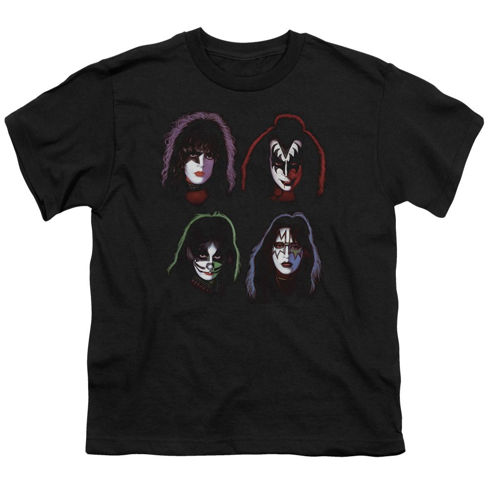 Kiss Four Heads Youth T-Shirt