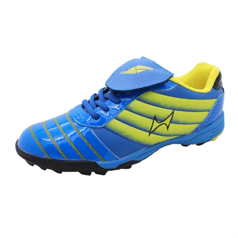 健康メンズフットボール靴915 B00DE2MN4Cブルー 10 D(M) US