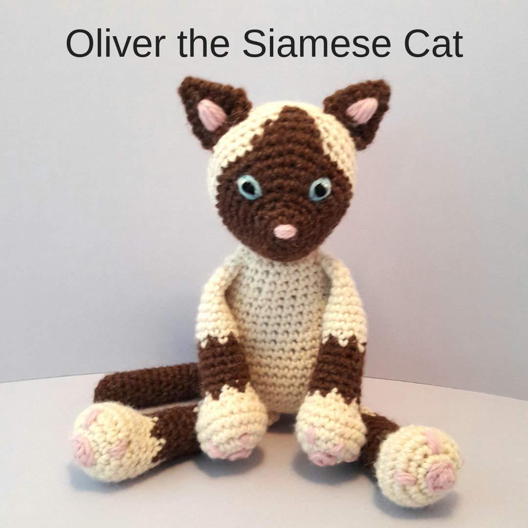 AmiCats Collection 2 - FOUR amigurumi cat crochet patterns ... | 1080x1080