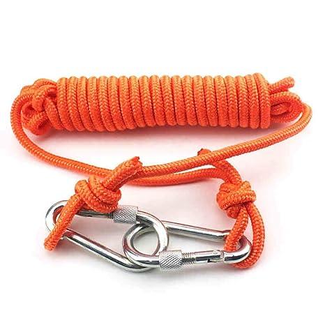 Cuerdas específicas Cuerda al aire libre Buceo snorkeling natación rescate cuerda Flotador con cuerda hebilla Cinturón