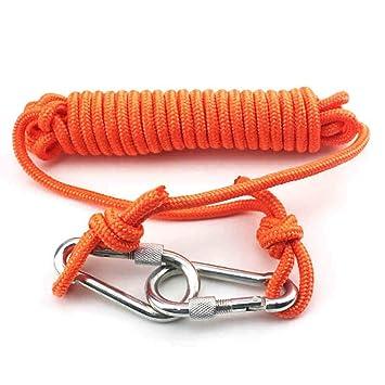 Cuerdas específicas Cuerda al aire libre Buceo snorkeling natación rescate cuerda Flotador con cuerda hebilla Cinturón ...