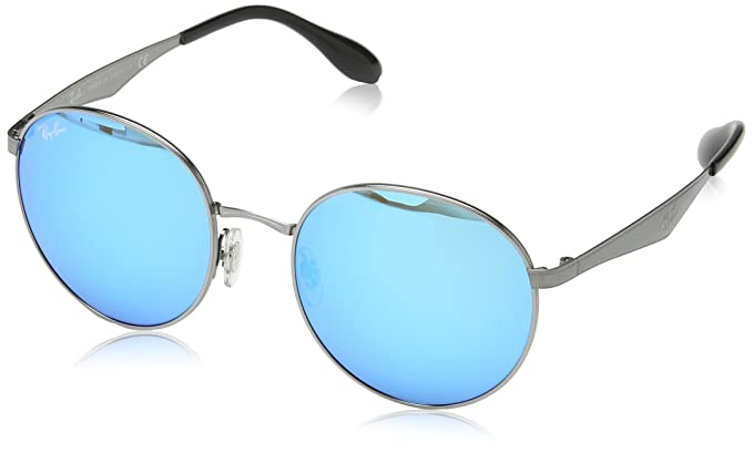 67d982a32b7c9 Amazon.com  Ray-Ban Men s Metal Man Sunglass Round