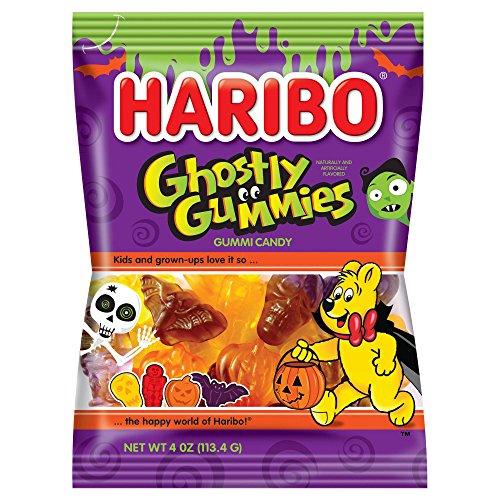 Haribo Halloween Limited Gummy Candy 4oz (Ghostly Gummies)