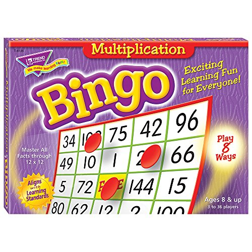 - Multiplication Bingo Game
