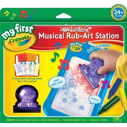 Crayola musical Rub Art station