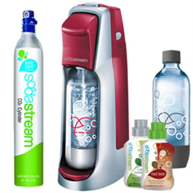 Amazon.com: SodaStream Jet Starter Kit, Red: Kitchen & Dining