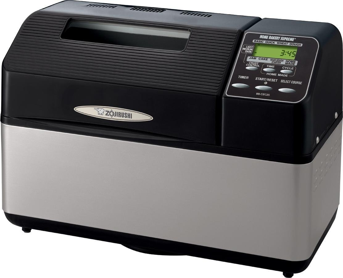 Amazon.com: Zojirushi bb-cec20 Home Bakery Supreme 2 Lb ...