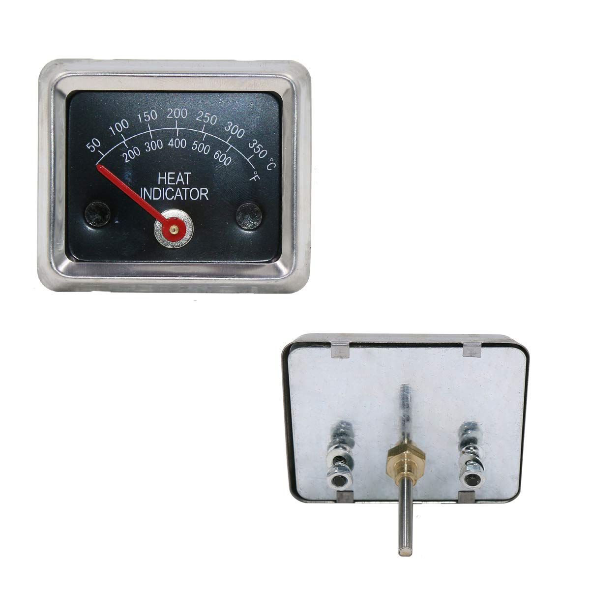 Bar.b.q.s Replacement Stainless Steel Ducane Gas Grill Heat and Temperature Indicator