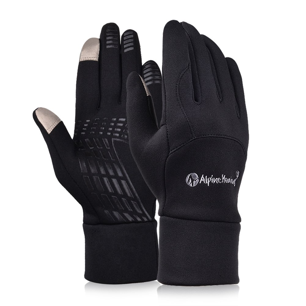 Driving gloves winter - Vbiger Winter Gloves Touch Screen Gloves Outdoor Cycling Gloves For Men And Women