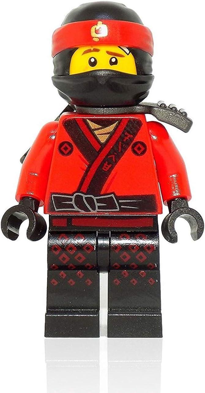 LEGO The Ninjago Movie: Kai with Mask and Katana Holder Minifigure