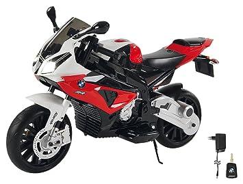 Jamara- Ride on Motocicleta BMW S1000RR 12V, Color Rojo ...