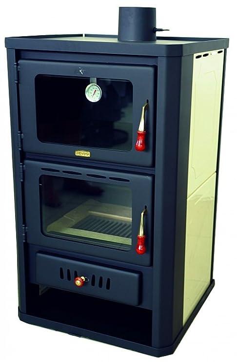 Termostufa a legna con forno 20kw: Amazon.it: Fai da te