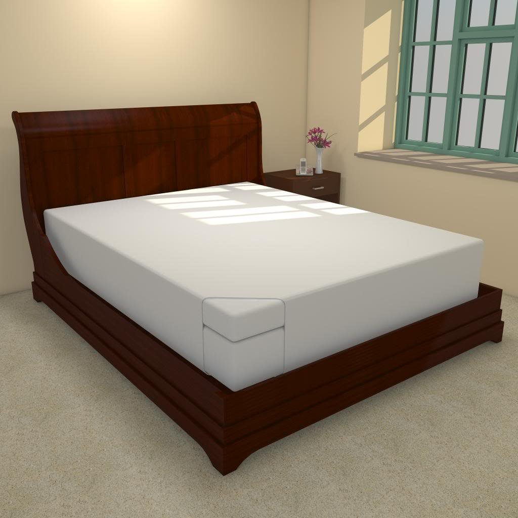 """Amazon.com: Queen 12 Inch Thick Soft Sleeper 5.5 Mattress With 4"""" Visco  Elastic Memory Foam USA Made: Kitchen & Dining"""