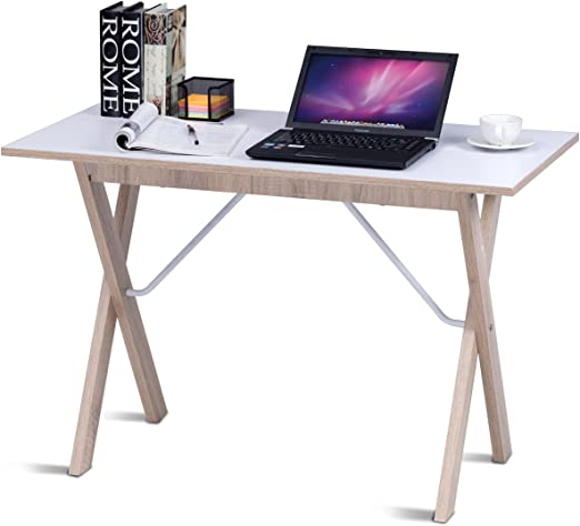 Costway Mesa de Escritorio para Ordenador, Escritorio, Oficina ...