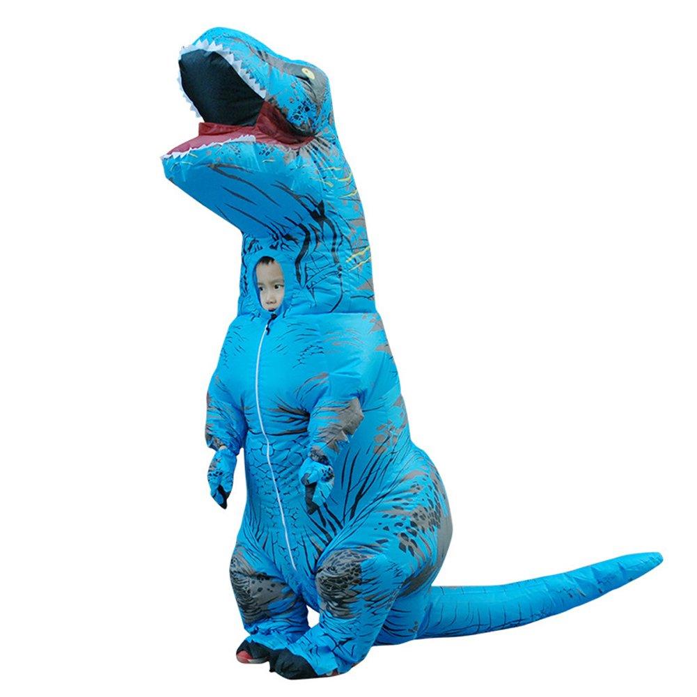 Dinosaur Inflatable Costume Jurassic World T-Rex Kids Cosplay Costume