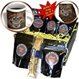 3dRose Australian Shepherd Love Dog Breed in Gray and Brown, Coffee Gift Baskets, 48-Ounce