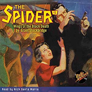 The Spider #3: Wings of the Black Death Audiobook