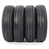 Set of 4 ST225/75-15 10 Ply E Load Radial Trailer Tires 2257515 22575R15