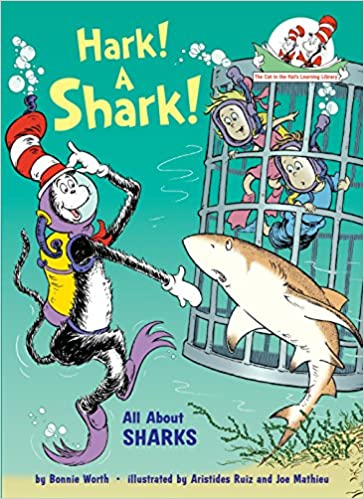 76e5f015e2cba Amazon.com  Hark! A Shark!  All About Sharks (Cat in the Hat s ...