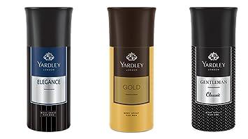 fc1cf77f49b Buy Yardley Men Deo Tripack - Gold+ Elegance+ Gentleman Deo Tri ...