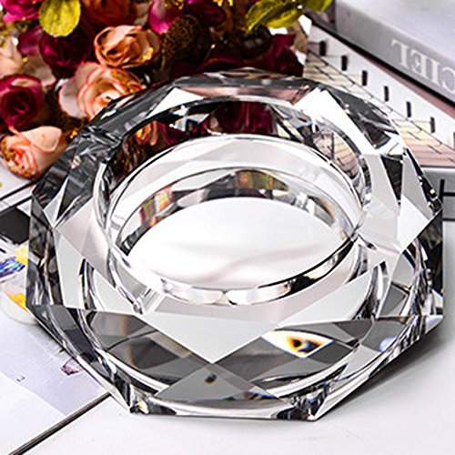 Max&Mix Crystal Cigar Ashtray European Living Room Ash Tray Holder