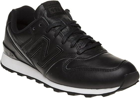 New Balance 996 Mujer Zapatillas Negro: Amazon.es: Zapatos y ...
