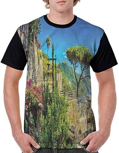 BlountDecor Casual Short Sleeve Graphic Tee Shirts,Trees with Many Stars Fashion Personality Customization